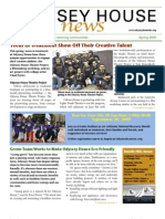 Odyssey House News, Spring 2009 edition