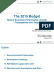 2015 Budget NEDA Presentation