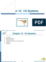 Chapter -12 I/O Systems, Operating Systems