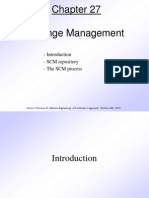 Pressman Ch 27 Change Management
