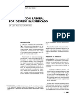 Indemnización Laboral Por Despido Injustificado