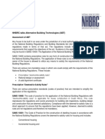 NHBRC Talks Alternative Building Technologies