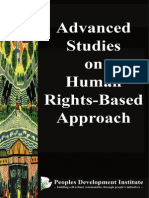 Advanced Studies on Human Rights-Based Approach