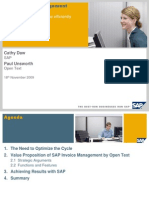 SAP Invoice Management by Open Text -Nov Webinar
