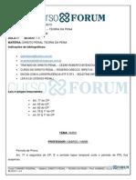 Turmãƒo Federal 2013 - Manhム- Presencial - Direito Penal - Teoria Da Pena - Aula 07 -04.06.2013