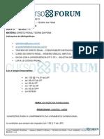 Turmãƒo Federal 2013 - Manhム- Presencial - Direito Penal - Teoria Da Pena - Aula 08 -10.06.2013