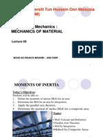 Mechanics of Material-Moments of Inertia