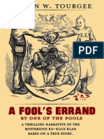 A Fool's Errand by Albion W. Tourgée