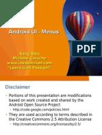 3-Android Ui Menu