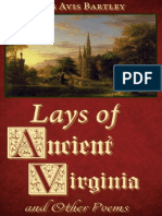 Lays of Ancient Virginia and Other Poems by James Avis Bartley (1855)