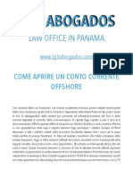 Come aprire un conto corrente offshore