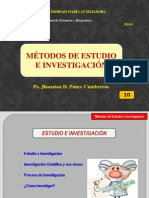 Clase 10 - Estudio e Investigacion