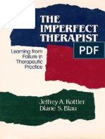 The Imperfect Therapist