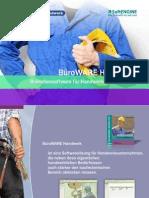 BüroWARE Handwerk Branchensoftware für Handwerksunternehmen
