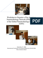 Workshop to Organize a Pan-American Nanotechnology Network (PNN) as part of the Global Nanotechnology Network (GNN)