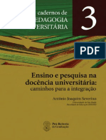Antonio Joaquim Severino Cadernos 3