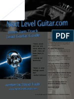 NLG G Minor Blues Jamtrack eBook
