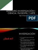 02 Ciencia Filosofía y Arte