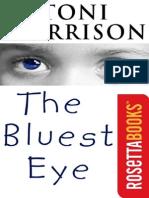 Toni Morrison the Bluest Eye 2007