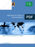 ALA Advanced Diploma in Supply Chain Management Programme (Eng)