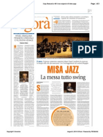 Misa Jazz - La messa tutto swing