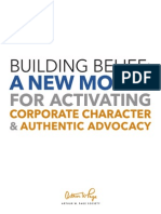 Building Belief New Model for Corp Comms