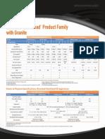 Riverbed Steelhead Family Granite SpecSheet