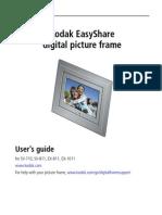 Kodak EasyShare Digital Frames UG GLB En