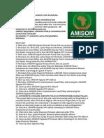 AMISOM FPU Training Closes