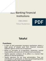 Non-Banking Financial Institutions