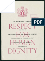 Respect for Human Dignity