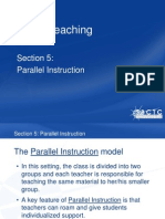 Step 6 Parallel Instruction Section 5