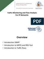 1 Traffic Monitoring and Flow Analysis