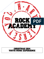 ROCK ACADEMY Christmas 2014