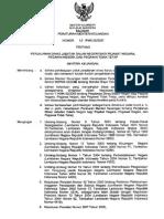 PMK 45 Tahun 2007 tentang sppd