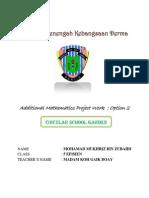 Additional Mathematics - Circular Measure ( SPM Project Work )