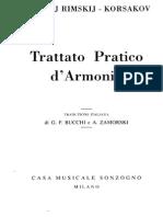 Trattato Pratico Di Armonia
