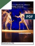 Buku Mengenal Olahraga Anggar