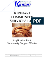 CSW Employment Package
