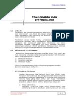 Bab 6 Pendekatan Dan Metodologi