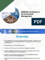 Neboshcertificateinenvironmentalmanagement Introduction 120808121947 Phpapp01