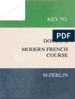 Key to Dondo's Modern French Course(Gnv64)
