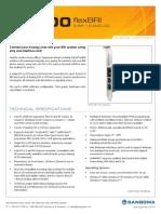 Sangoma B700 Series FlexBRI Hybrid Voice Card Datasheet