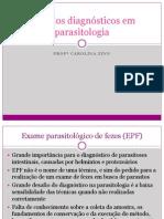 Métodos Diagnósticos Em Parasitologia