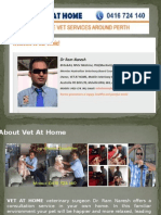 Vet At Home- Mobile Vet Services Around The Perth