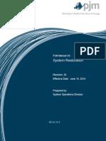 System Restoration - PJM