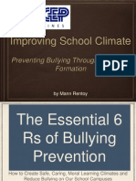 Preventing Bullying Through Character Formation
