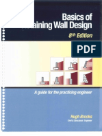 Basics of Retaining Wall Design 8Ed