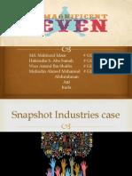 Snapshot Industries case