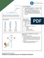 05. LIGHT Physics form 4
